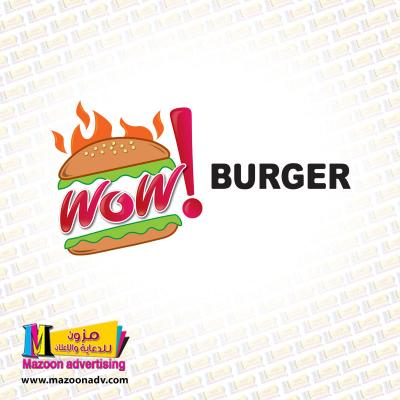 Wow Burger Logo